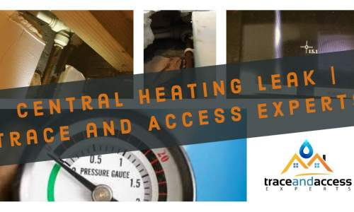 Image for Trace and Access central heating leak detection video